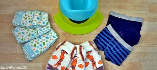 apprendre à bébé à être propre
