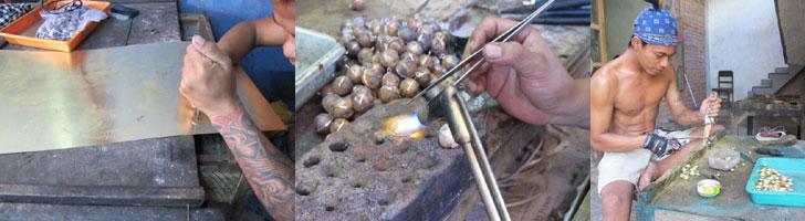 bijou bola traditionnel indonésie