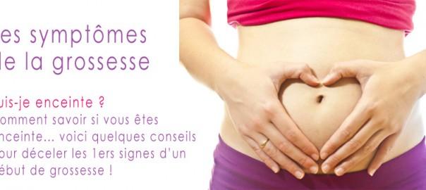 signes de début de grossesse