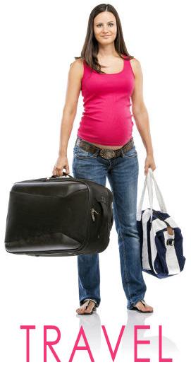 voyage femme enceinte