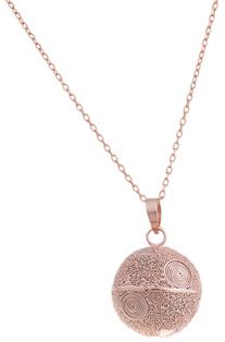 bola de grossesse en or rose artisanal