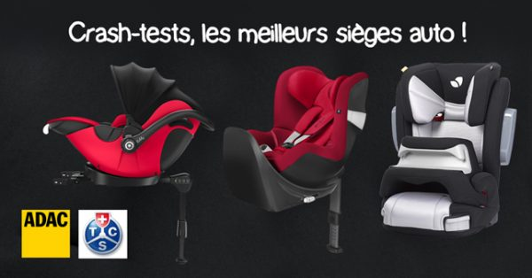 les meilleurs sièges auto bébé