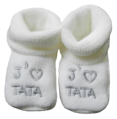 cadeau chaussons bébé