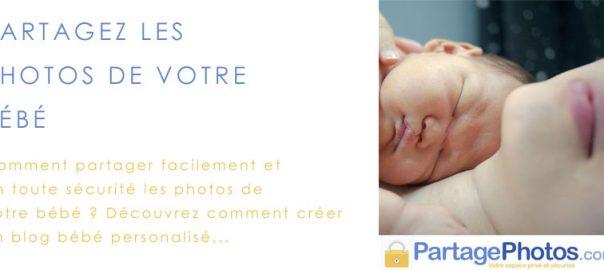 blog bébé et photos à partager