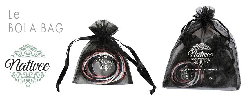 pochette bag pour bola de grossesse