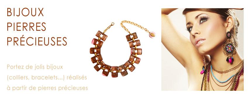 collier et bracelet femme