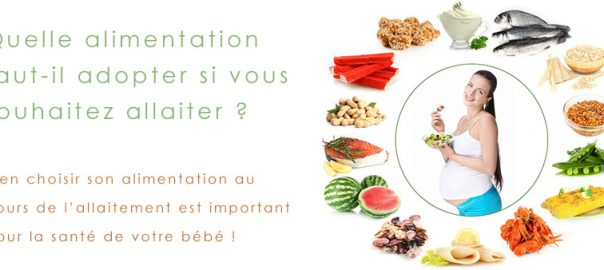nourriture pour bien allaiter