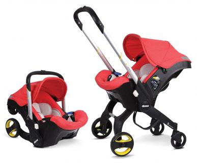 combiné pousette et siège bébé auto