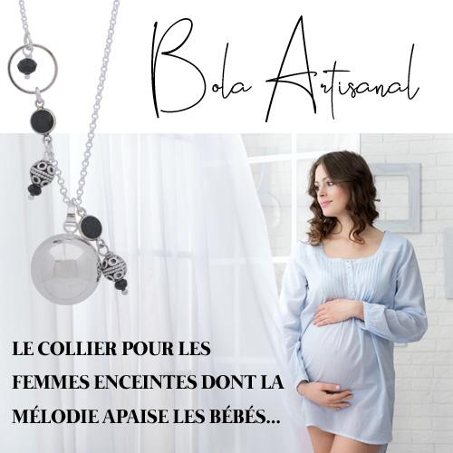 cadeau collier bola femme enceinte